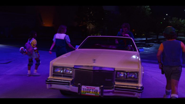 "Cadillac Eldorado Biarritz Convertible Car in Stranger Things - Season 3, Episode 8, ""The Battle of Starcourt"" (2019) - TV Show Product Placement"