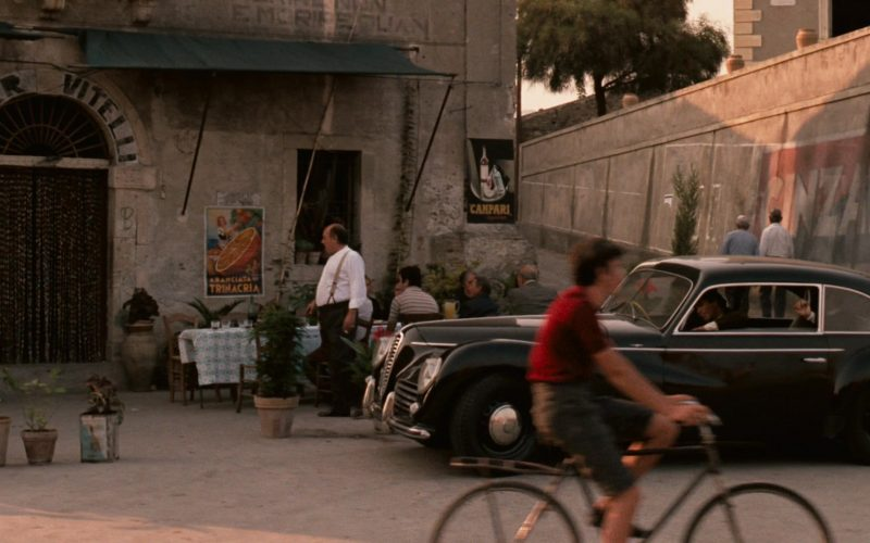 Campari Poster in The Godfather