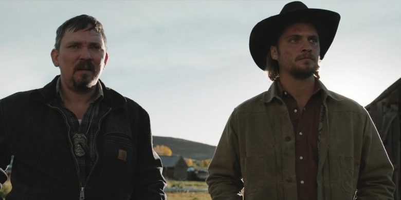 """Carhartt Jacket Worn by James Jordan in Yellowstone - Season 2, Episode 4, """"Only Devils Left"""" (2019) - TV Show Product Placement"""