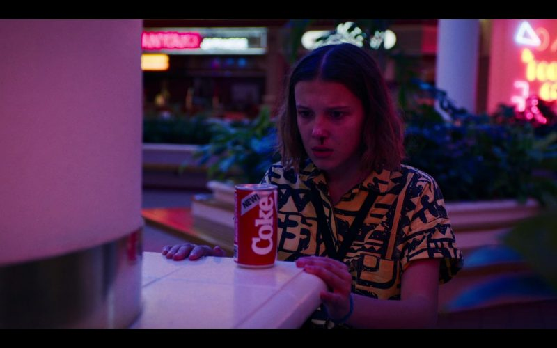 Coca-Cola Can Used by Millie Bobby Brown as Eleven (Jane Hopper) in Stranger Things (5)