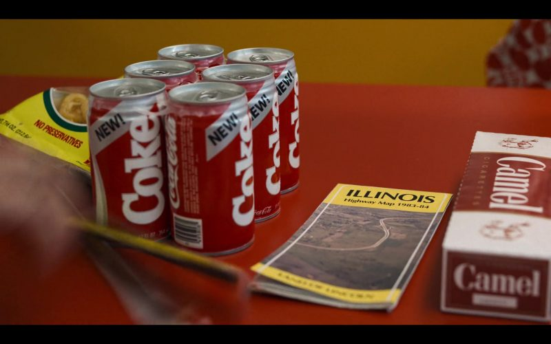 Coca-Cola Cans & Camel Cigarettes in Stranger Things