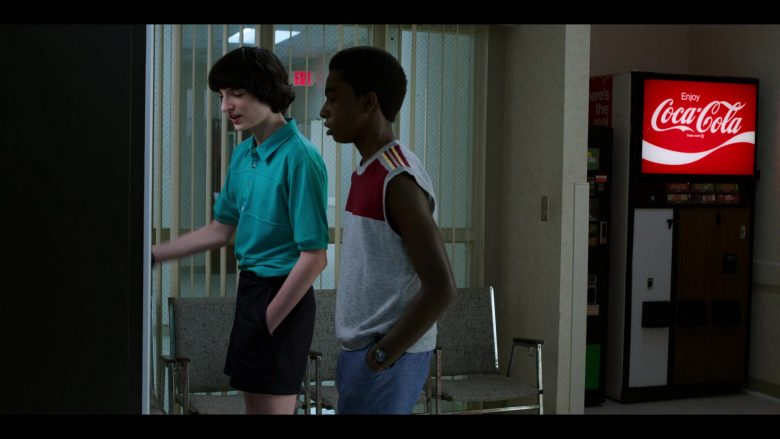 """Coca-Cola Vending Machine in Stranger Things - Season 3, Episode 5, """"The Flayed"""" (2019) TV Show"""