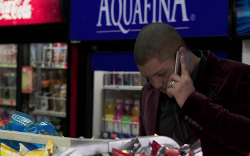 Coca-Cola and Aquafina in Long Shot