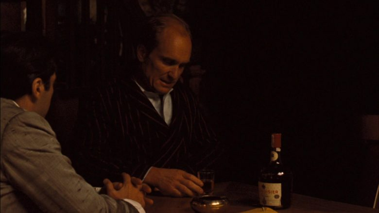 Courvoisier Cognac in The Godfather: Part 2 (1974) - Movie Product Placement