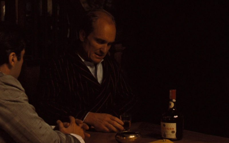 Courvoisier Cognac in The Godfather Part 2