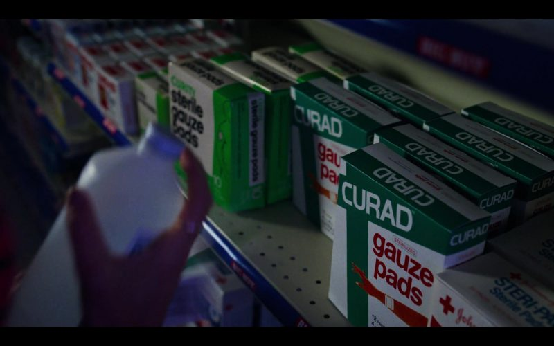 Curad Gauze Pads in Stranger Things (1)