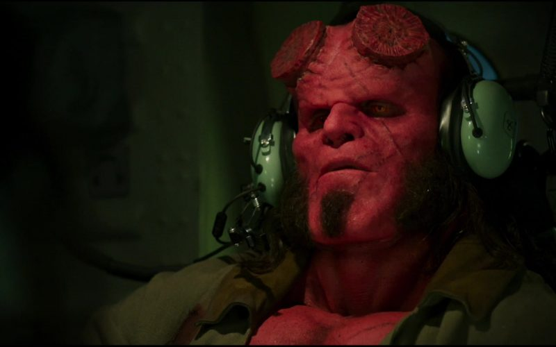 David Clark Headset Used by Ron Perlman in Hellboy
