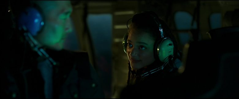 David Clark Headsets Used by Sasha Lane in Hellboy (2019) - Movie Product Placement