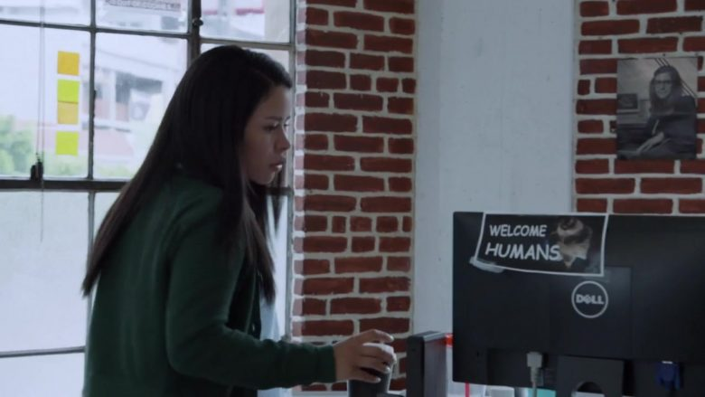 Dell Computer Monitor Used by Cierra Ramirez in Good Trouble - Season 2, Episode 7, In the Middle (2019) - TV Show Product Placement