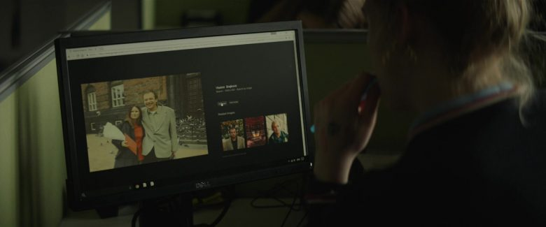 Dell Computer Monitor Used by Elle Fanning in Teen Spirit (2018) - Movie Product Placement