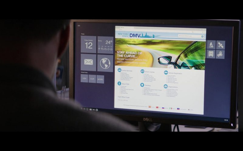 Dell Computer Monitor Used by Jessie Usher in Shaft (1)