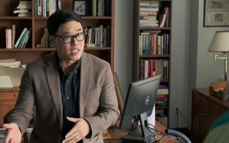 Dell Computer Monitor Used by Randall Park in Long Shot (2)