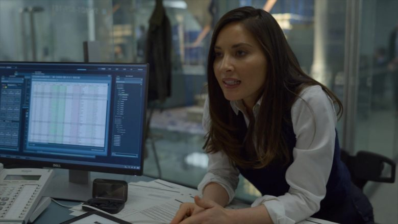 Dell Computer Monitor in The Rook - Season 1, Episode 2 (2019) - TV Show Product Placement
