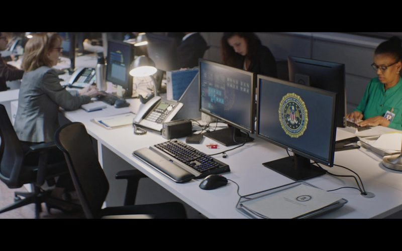 Dell Computer Monitors in Shaft