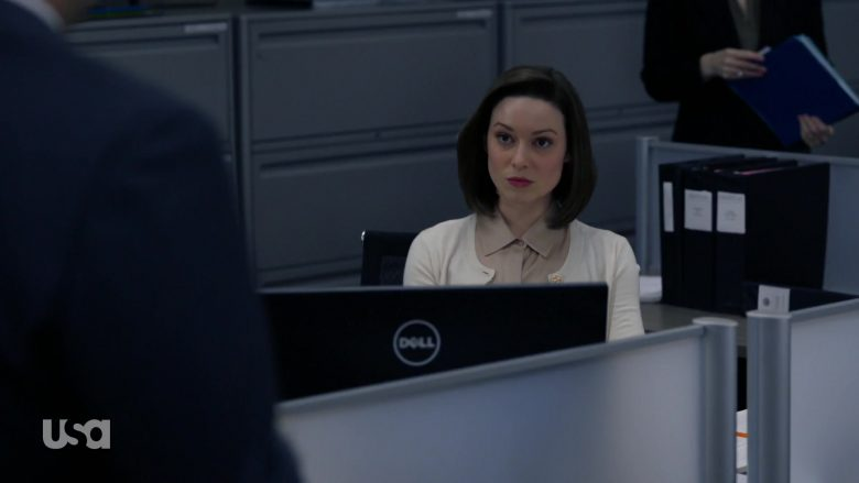 Dell Computer Monitors in Suits - Season 9, Episode 2, Special Master (2019) - TV Show Product Placement