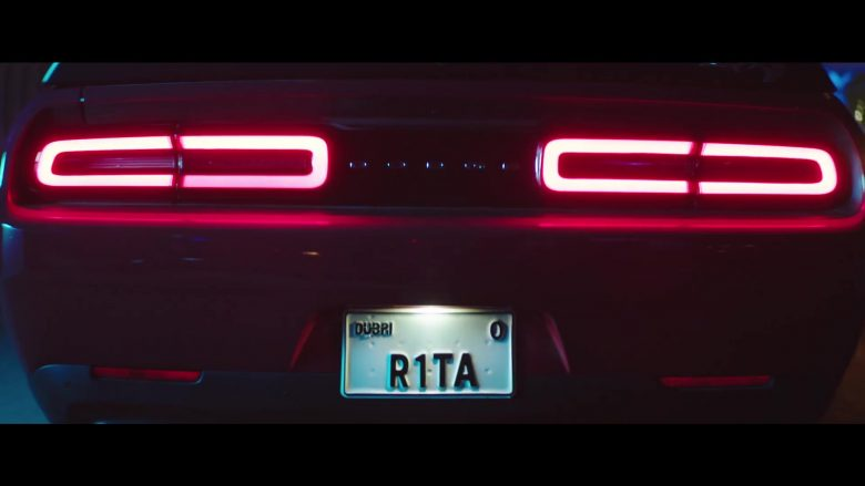 Dodge Challenger SRT Red Muscle Car Driven by Rita Ora in New Look (2019) - Official Music Video Product Placement