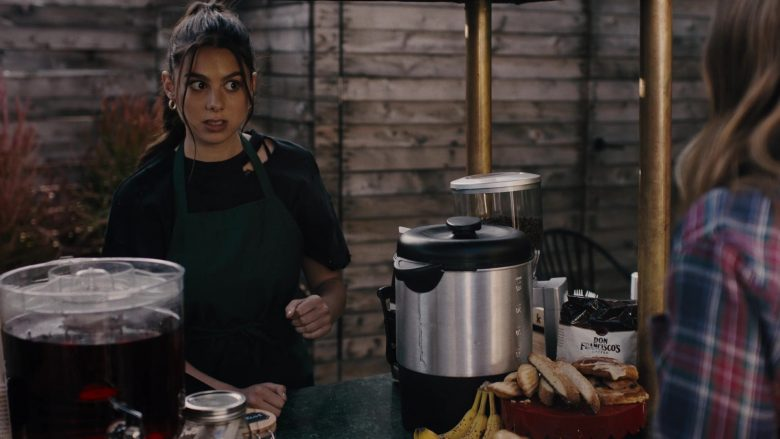 """Don Francisco's Coffee in Light as a Feather - Season 2, Episode 4, """"... Sick as a Dog"""" (2019) - TV Show Product Placement"""