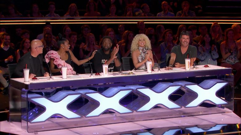 Dunkin' Donuts in America's Got Talent - Season 14, Episode 9, Judge Cuts 2 (2019) - Reality Television Product Placement