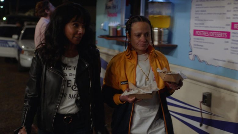 Ellesse Jacket Worn by Judy Reyes in Claws - Season 3, Episode 6, Fly Like an Eagle (2019) - TV Show Product Placement