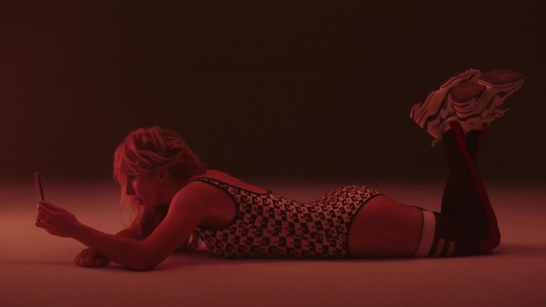 Fendi Swimsuit Worn by Ellie Goulding in Hate Me ft. Juice WRLD (2019) - Official Music Video Product Placement