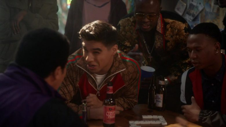 "Gucci Jacket in Grown-ish - Season 2, Episode 17, ""Strictly 4 My..."" (2019) - TV Show Product Placement"