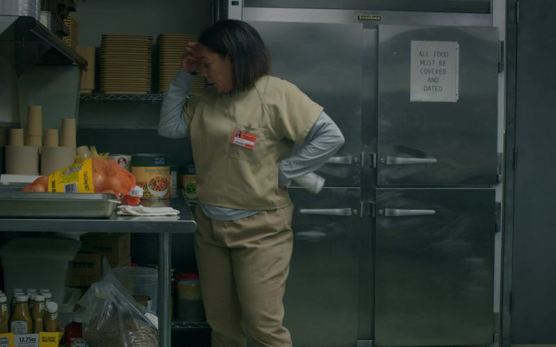 Heinz Mustard and Ketchup in Orange Is the New Black