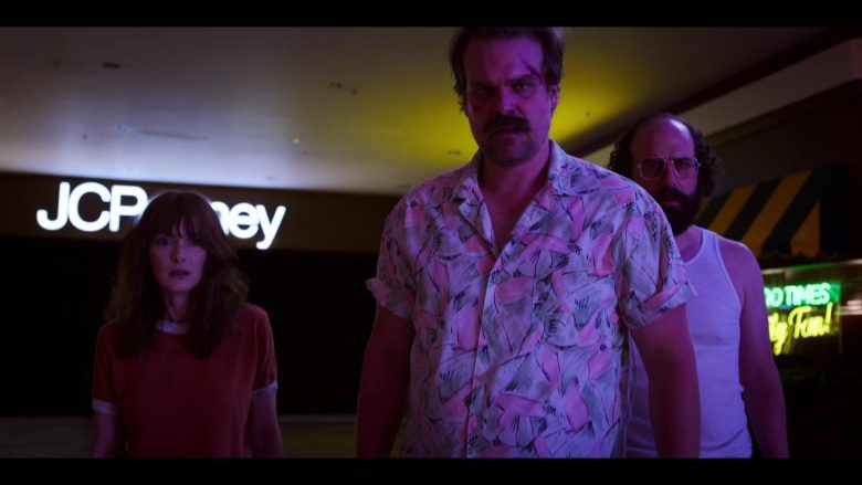 """JCPenney Store in Stranger Things - Season 3, Episode 8, """"The Battle of Starcourt"""" (2019) - TV Show Product Placement"""