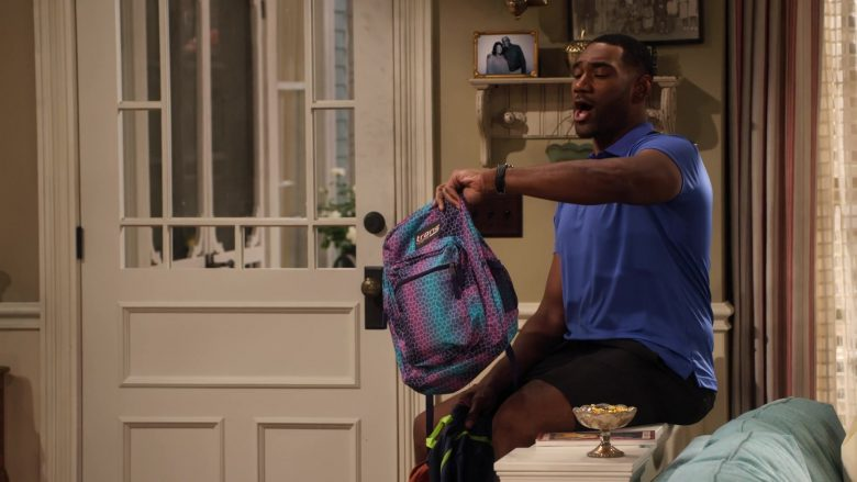 """JanSport Trans Backpack in Family Reunion - Season 1 Episode 7, """"Remember the First Day of School?"""" (2019) - TV Show Product Placement"""