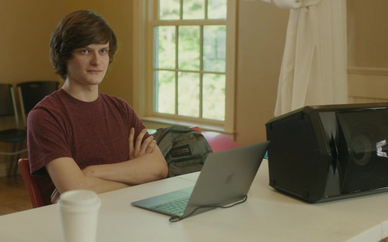Jansport Backpack and Apple MacBook Laptop Used by Charlie Tahan in Poms