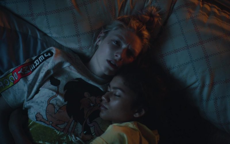 Jeremy Scott T-Shirt Worn by Hunter Schafer in Euphoria (3)