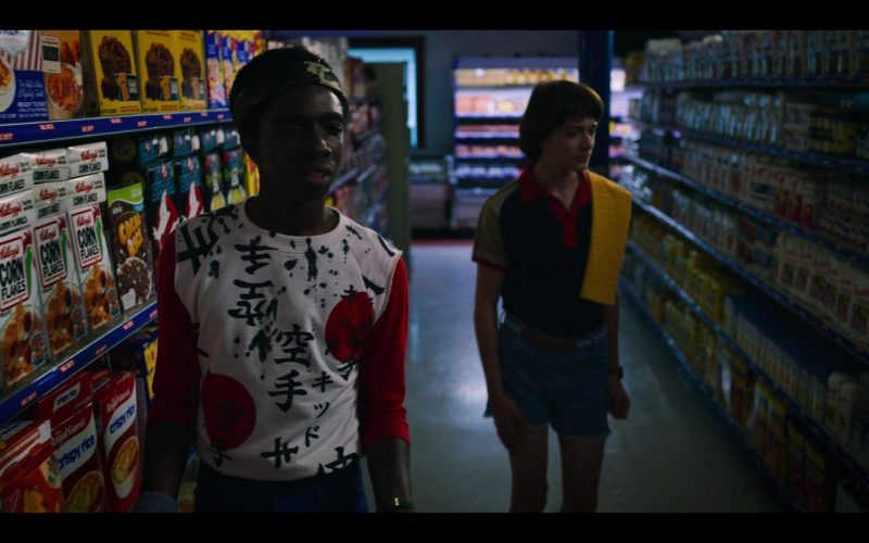 Kellogg's Corn Flakes Cereal in Stranger Things