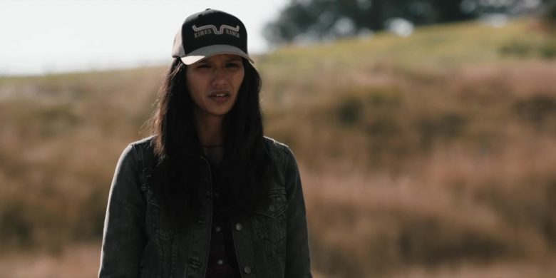 """Kimes Ranch Cap Worn by Tanaya Beatty in Yellowstone - Season 2, Episode 4, """"Only Devils Left"""" (2019) - TV Show Product Placement"""