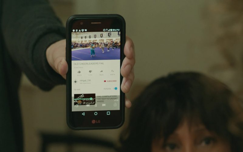 LG Smartphone Used by Charlie Tahan in Poms
