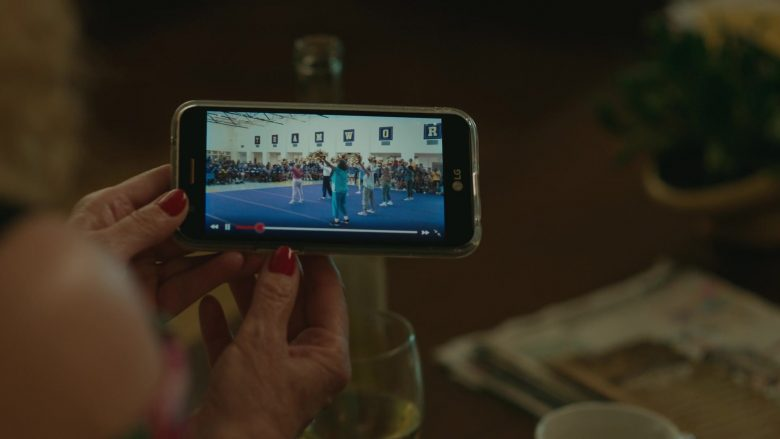 LG Smartphone Used by Jacki Weaver in Poms (2019) Movie