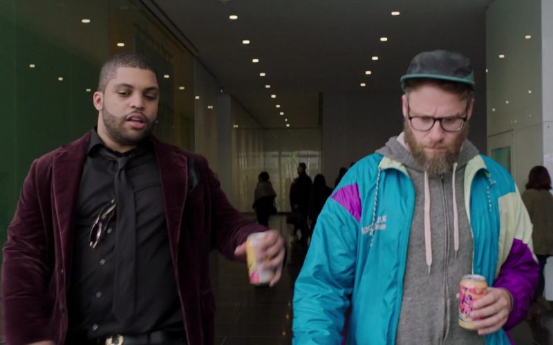 LaCroix Sparkling Water Enjoyed by O'Shea Jackson Jr. (Ice Cube) & Seth Rogen (1)