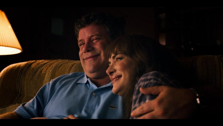 """Lacoste Polo Shirt (Blue) Worn by Sean Astin in Stranger Things - Season 3, Episode 1, """"Suzie, Do You Copy?"""" (2019) TV Show Product Placement"""