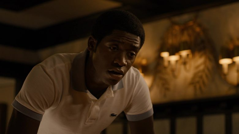 "Lacoste Polo Shirt Worn by Damson Idris in Snowfall - Season 3, Episode 1, ""Protect and Swerve"" (2019) TV Show Product Placement"