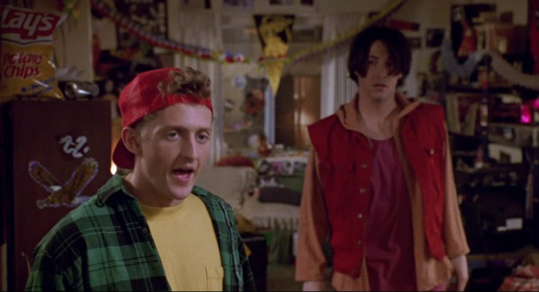 Lay's Potato Chips in Bill & Ted's Bogus Journey (1991) - Movie Product Placement
