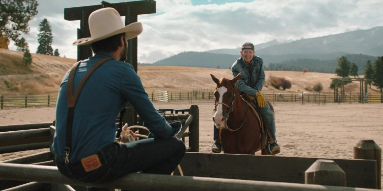 Levi's Men's Jeans Worn by Actor in Yellowstone - Season 2, Episode 5, Touching Your Enemy (2019) - TV Show Product Placement