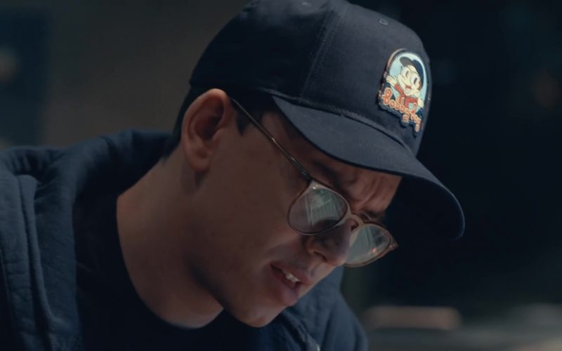 Logic Merch Bobby Boy Productions Patch Hat Worn by Logic in Homicide ft. Eminem (1)