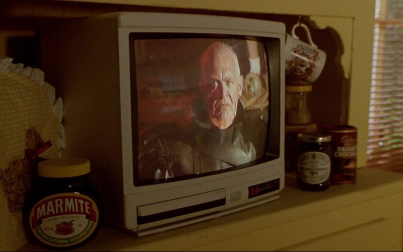 Marmite Yeast Extract Food Spread Produced by Unilever in Bill & Ted's Bogus Journey