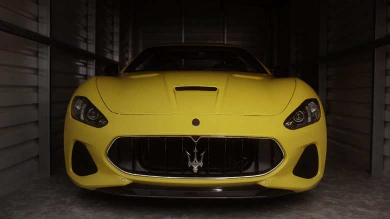 "Maserati Yellow Sports Car in Instinct - Season 2, Episode 2, ""Broken Record"" (2019) TV Show"