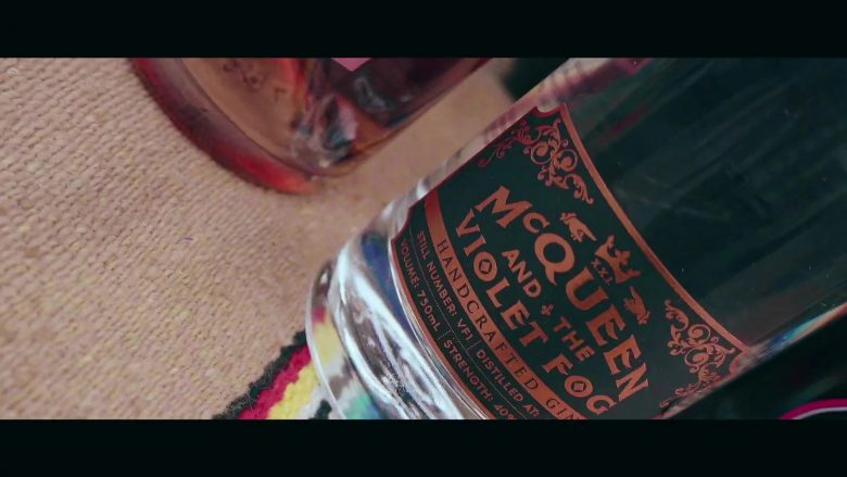 McQueen and the Violet Fog Gin Bottle in My Type by Saweetie (2019) - Official Music Video Product Placement