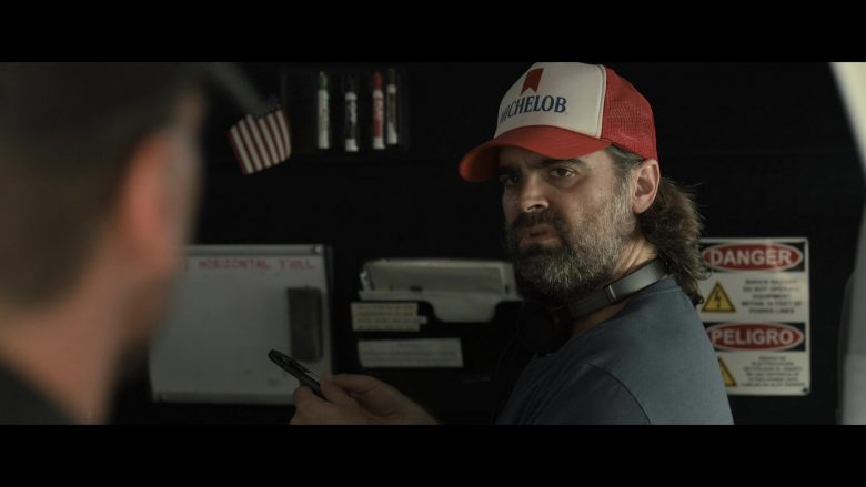 Michelob Cap Worn by Joe Lynch in Point Blank (2019) - Movie Product Placement