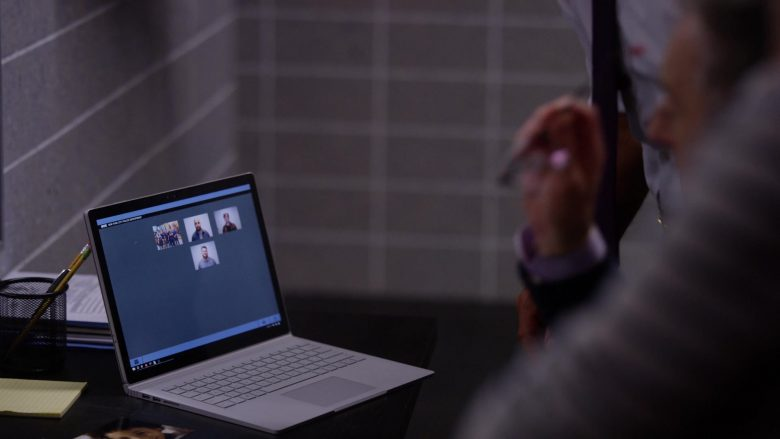 Microsoft Surface Laptop in Instinct - Season 2, Episode 3, Finders Keepers (2019) - TV Show Product Placement