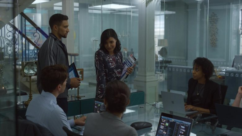 Microsoft Surface Notebooks in The Rook - Season 1, Episode 3 (2019) - TV Show Product Placement