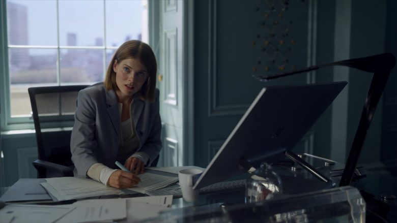 "Microsoft Surface Studio All-In-One Computer Used by Emma Greenwell in The Rook - Season 1, Episode 4, ""Chapter 4"" (2019) - TV Show Product Placement"
