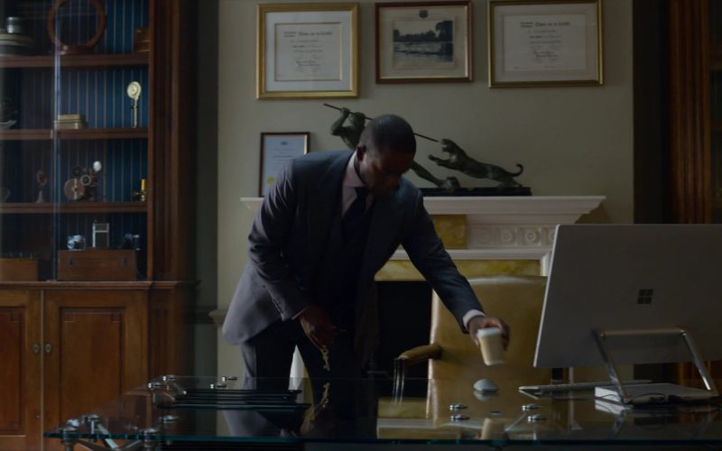 Microsoft Surface Studio All-In-One PC Used by Adrian Lester in The Rook (1)