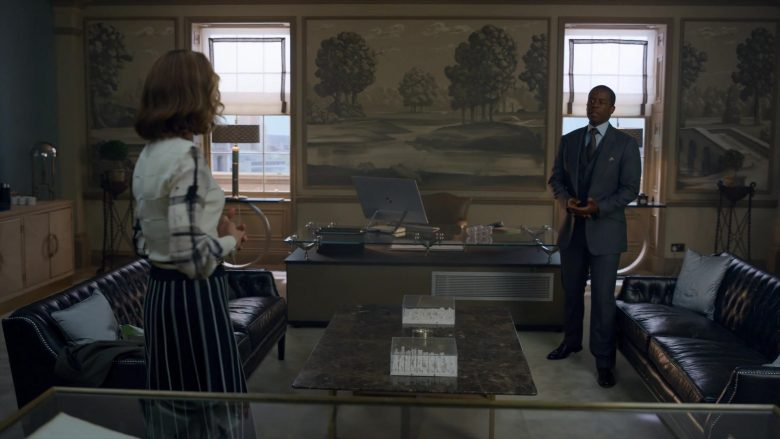 """Microsoft Surface Studio All-In-One PC Used by Adrian Lester in The Rook - Season 1, Episode 4, """"Chapter 4"""" (2019) - TV Show Product Placement"""