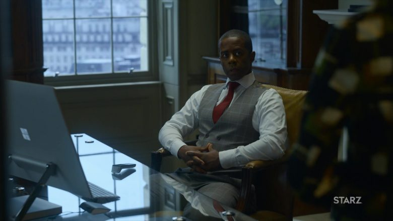 Microsoft Surface Studio Desktop Computer Used by Adrian Lester in The Rook - Season 1, Episode 3 (2019) - TV Show Product Placement